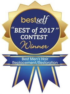 Anderson Aesthetics Center for Hair Best of 2017 Winner