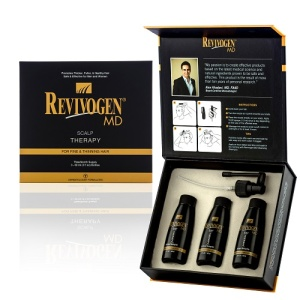 Revivogen MD Scalp Therapy Box closed and open