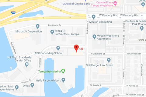 Map of Anderson Aesthetics in Tampa, FL